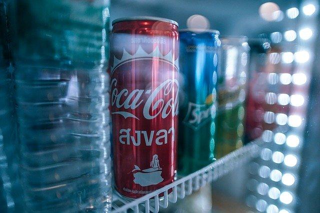 napoje w lodówce